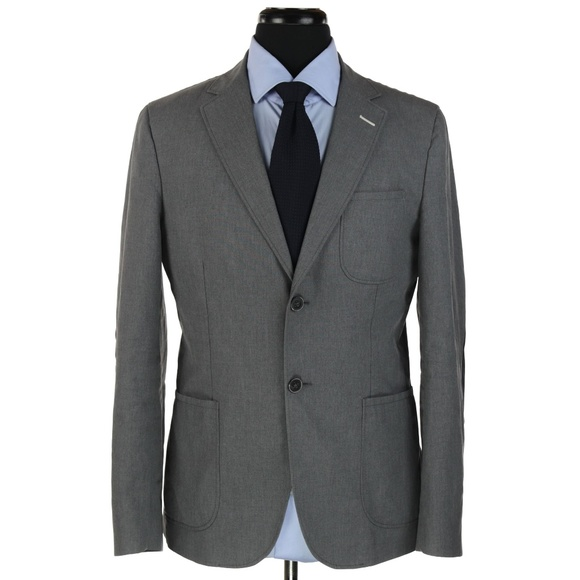 33f2fac80 Gant Rugger Cotton Blazer Sport Coat Gray 40R